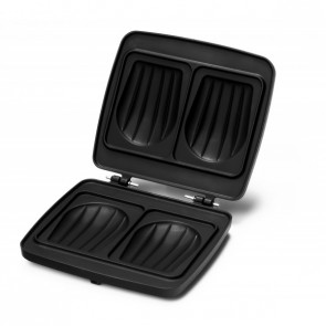 Croquade Croque Monsieur and Toast Waffle Plate (M005)