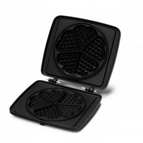 Croquade Heart Waffle Plate (M006)